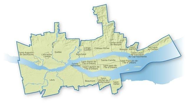 La zone du fleuve dont est responsable la Table de concertation régionale sur la gestion intégrée du Saint-Laurent.