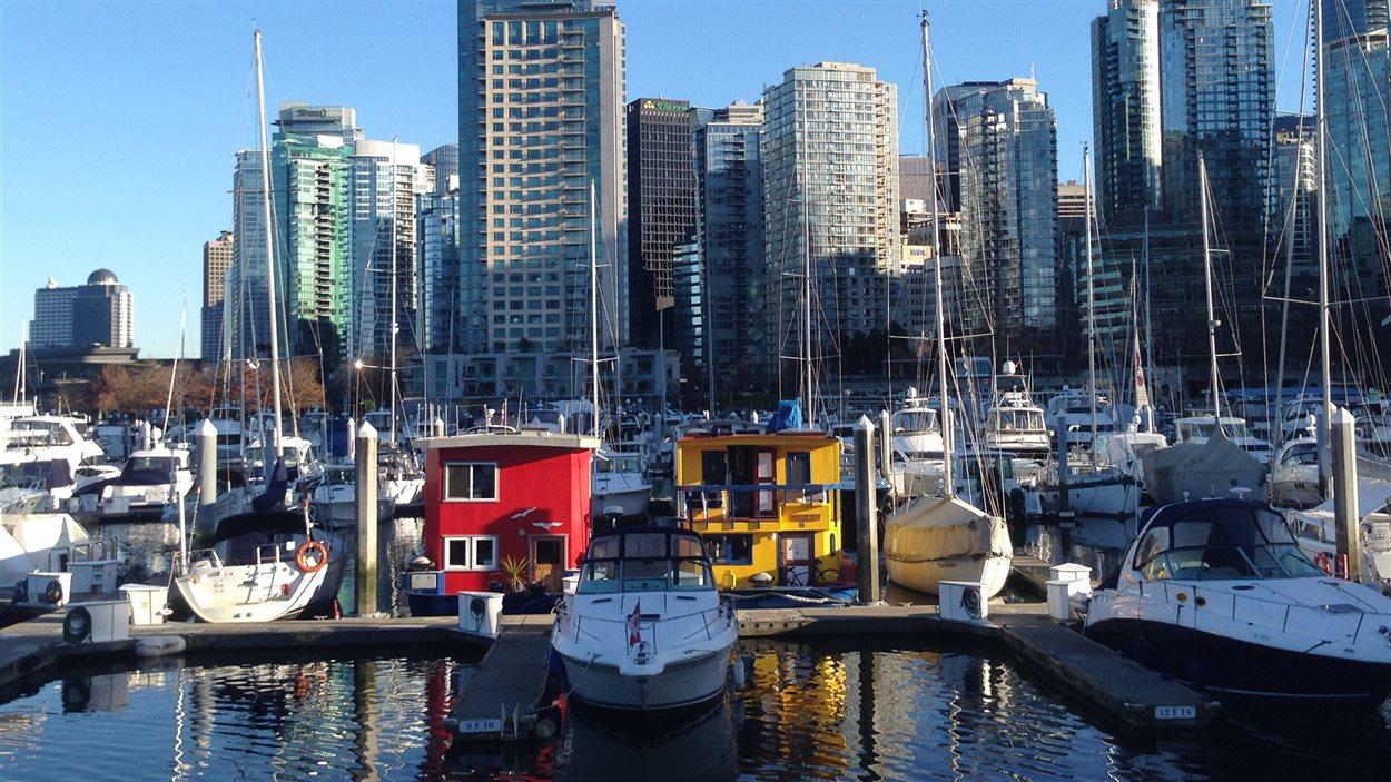 Le centre-ville de Vancouver