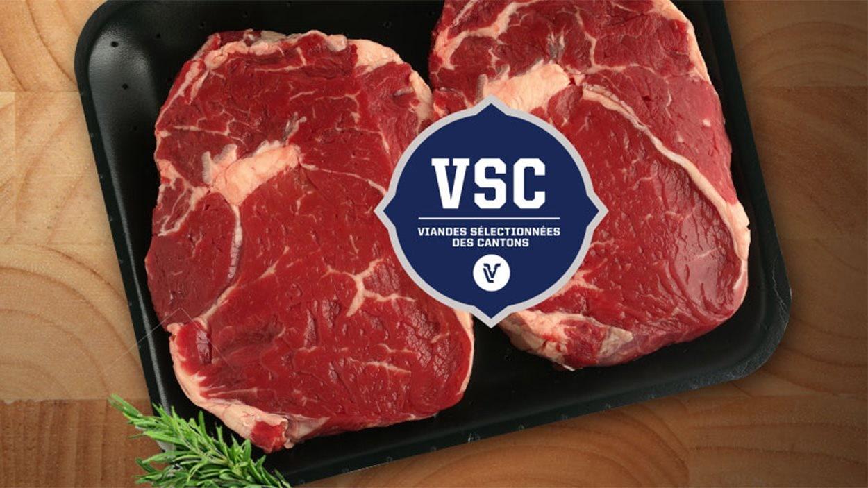 Le bœuf certifié VSC est un bœuf du Québec, sans antibiotiques et sans hormones de croissance