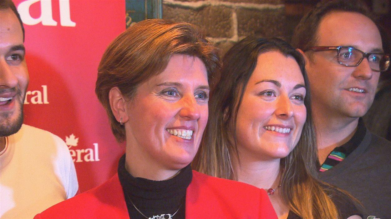 Marie-Claude Bibeau, élue dans Compton-Stanstead sous la bannière du PLC
