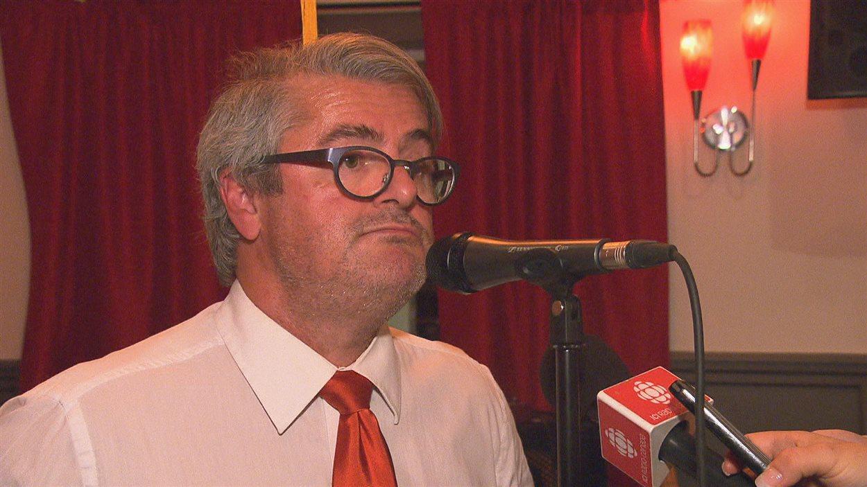 Le député défait du NPD dans Compton-Stanstead, Jean Rousseau