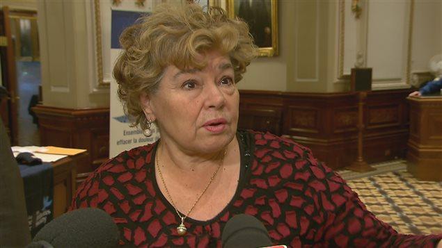Michelle Doré, présidente de l'Association hôtelière de la région de Québec