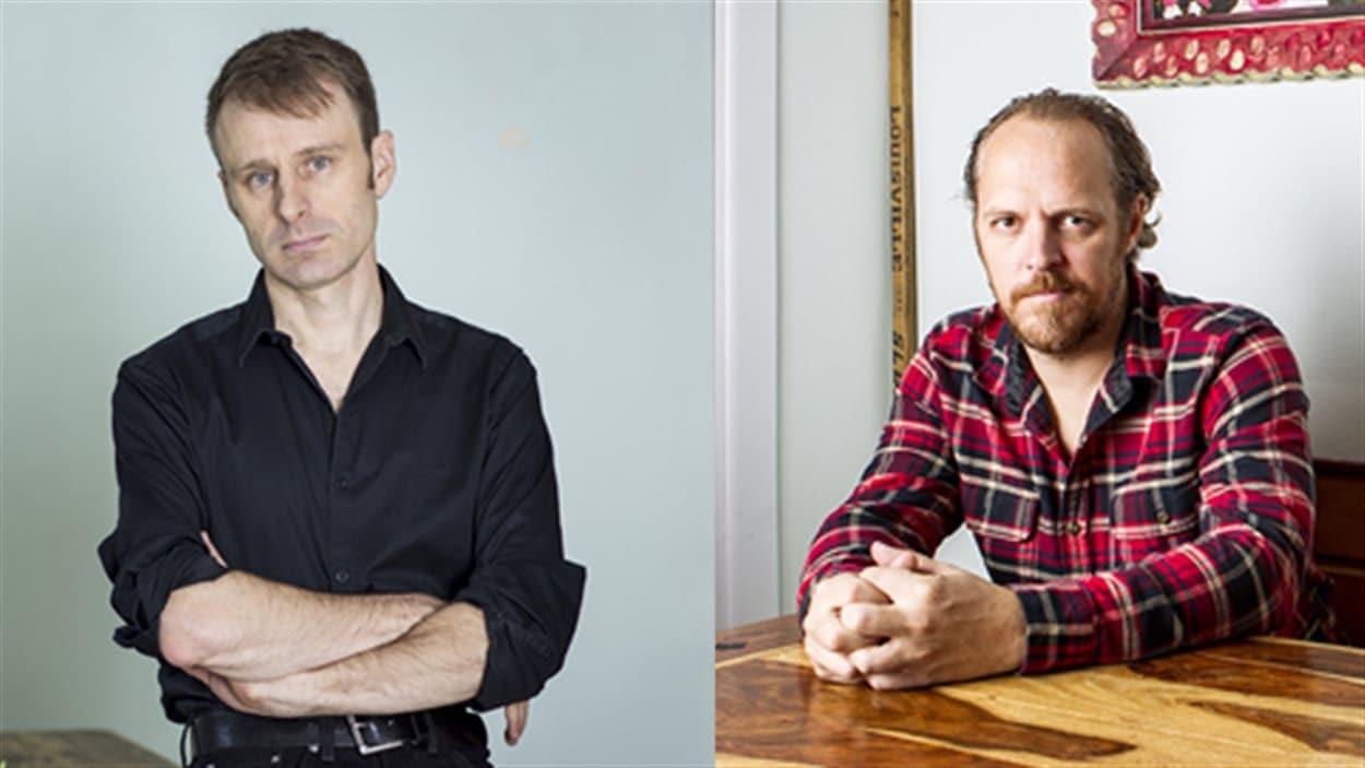 Nicolas Dickner et Fabien Cloutier