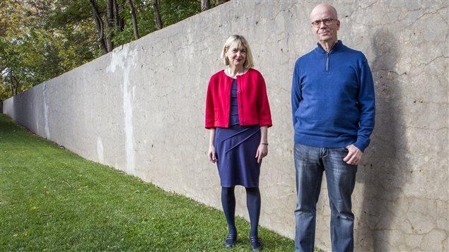 Les traducteurs Lori Saint-Martin et Paul Gagné