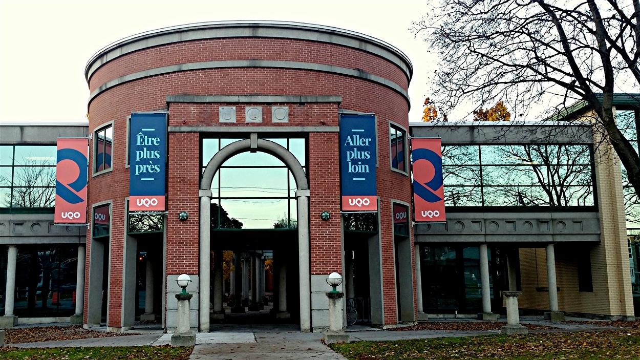 L'Université du Québec en Outaouais (UQO), à Gatineau. (05-11-15)