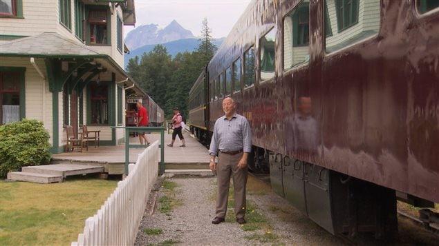 Le chemin de fer transcontinental avec Maurice Guibord