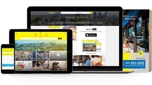 Les différentes plateformes dans lesquelles les Pages jaunes sont aujourd'hui offertes.