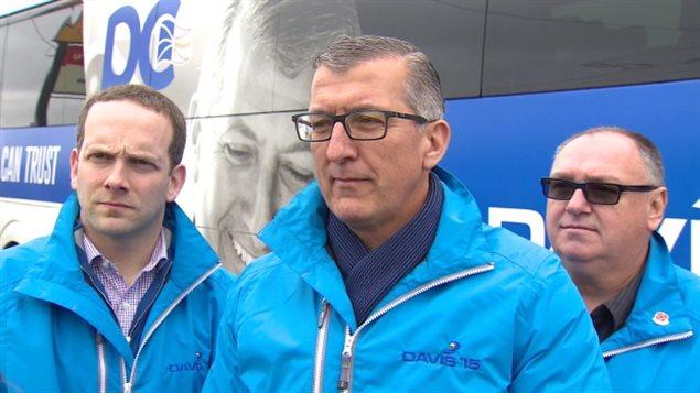 Paul Davis, chef du Parti progressiste-conservateur