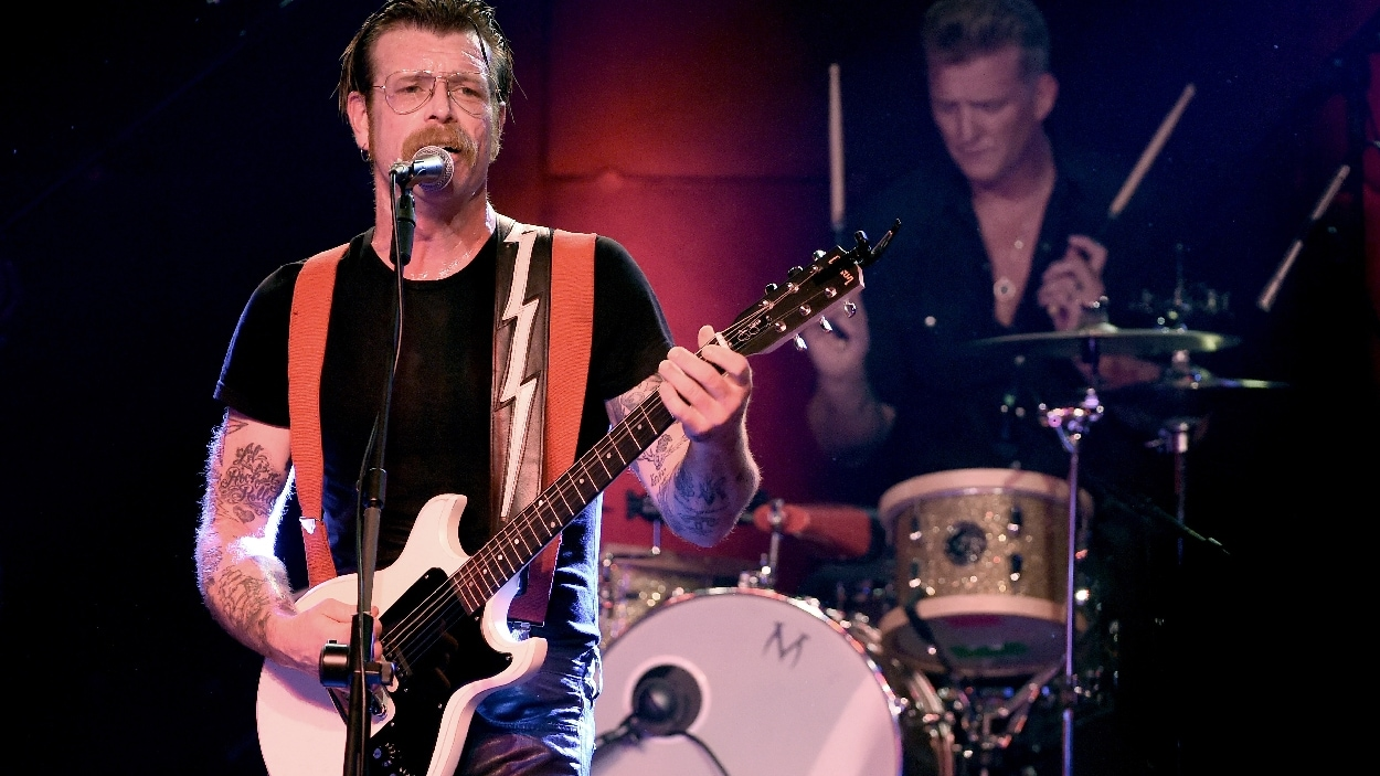 Jesse Hughes et Josh Homme d'Eagles of Death Metal