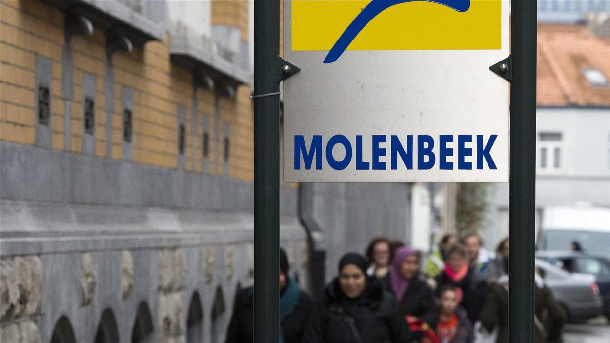 Molenbeek, commune de Bruxelles en Belgique