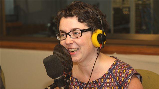 La journaliste au quotidien Le Devoir Isabelle Porter