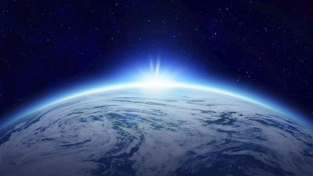 La planète Terre vue de l'espace