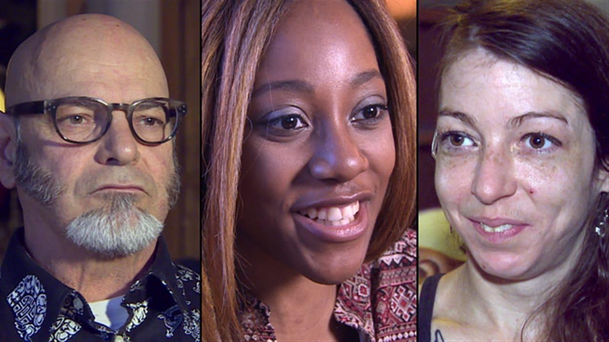 Jean-Rock Boutin, Muluba Habanyama et Alexandra de Kiewit nous expliquent ce que c'est vivre avec le VIH au jour le jour