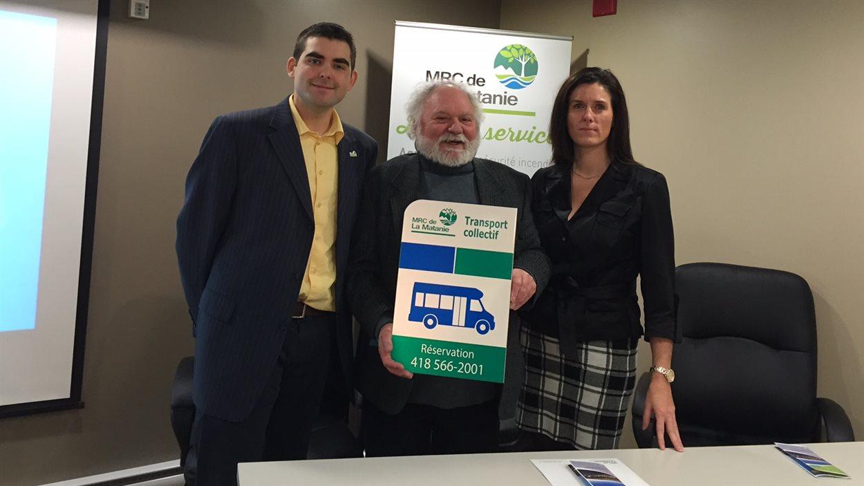 La MRC de La Matanie lance un projet pilote de transport collectif.