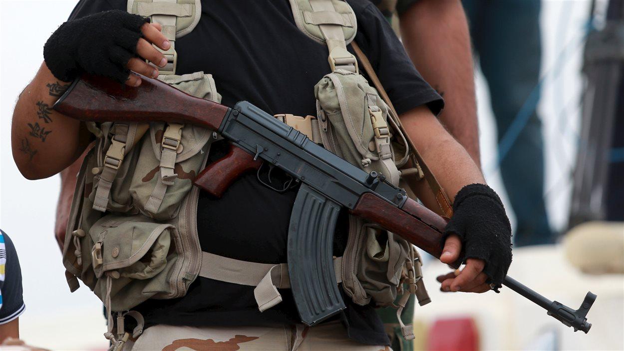 Un soldat libyen (archives)