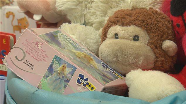 La Joujouthèque de la Basse-Ville récolte les jouets pour les enfants de familles syriennes qui viendront à Québec.