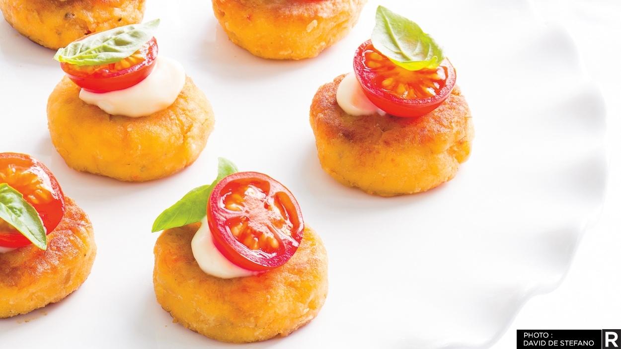 Bouchées De Crabcakes Une Recette Ricardo