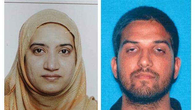 Tashfeen Malik et son époux américain Syed Farook