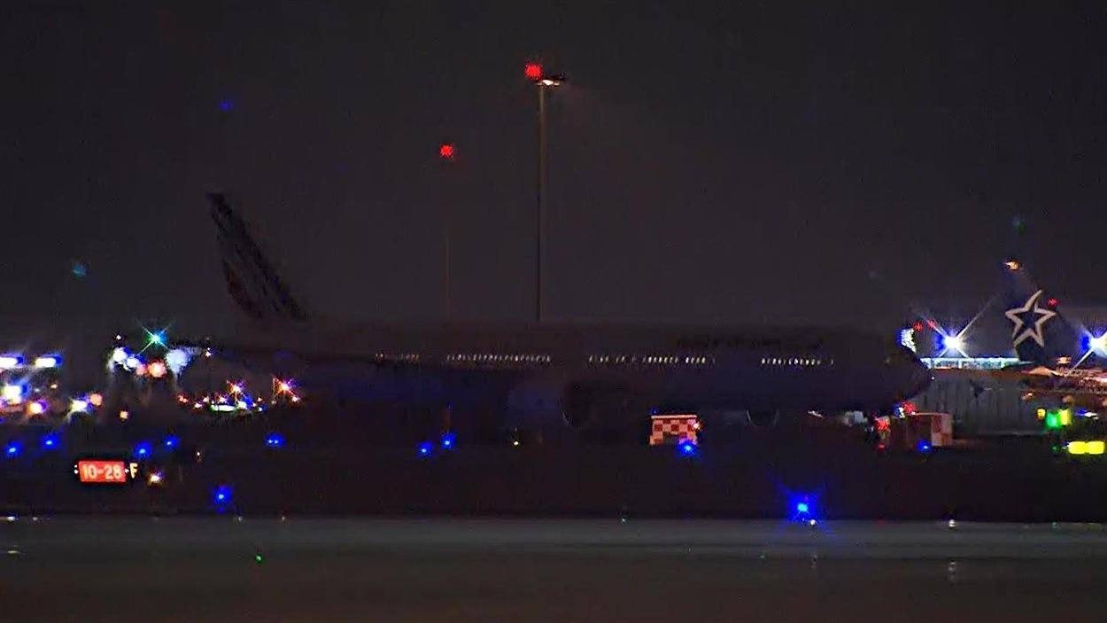 L'avion d'Air France dérouté à Montréal