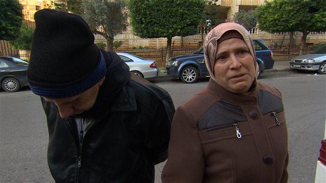 Fatima Abou Hamid une réfugiée syrienne en route pour le Canada