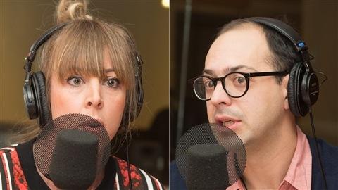 Florence Marcil-Denault et Xavier Brouillette