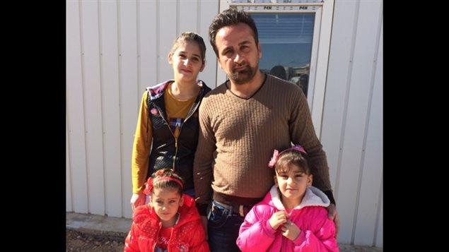 La famille Barbar, des réfugiés qui sont attendus à Sherbrooke