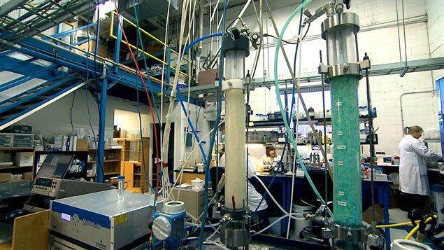 Laboratoires de CO2 Solution à Québec