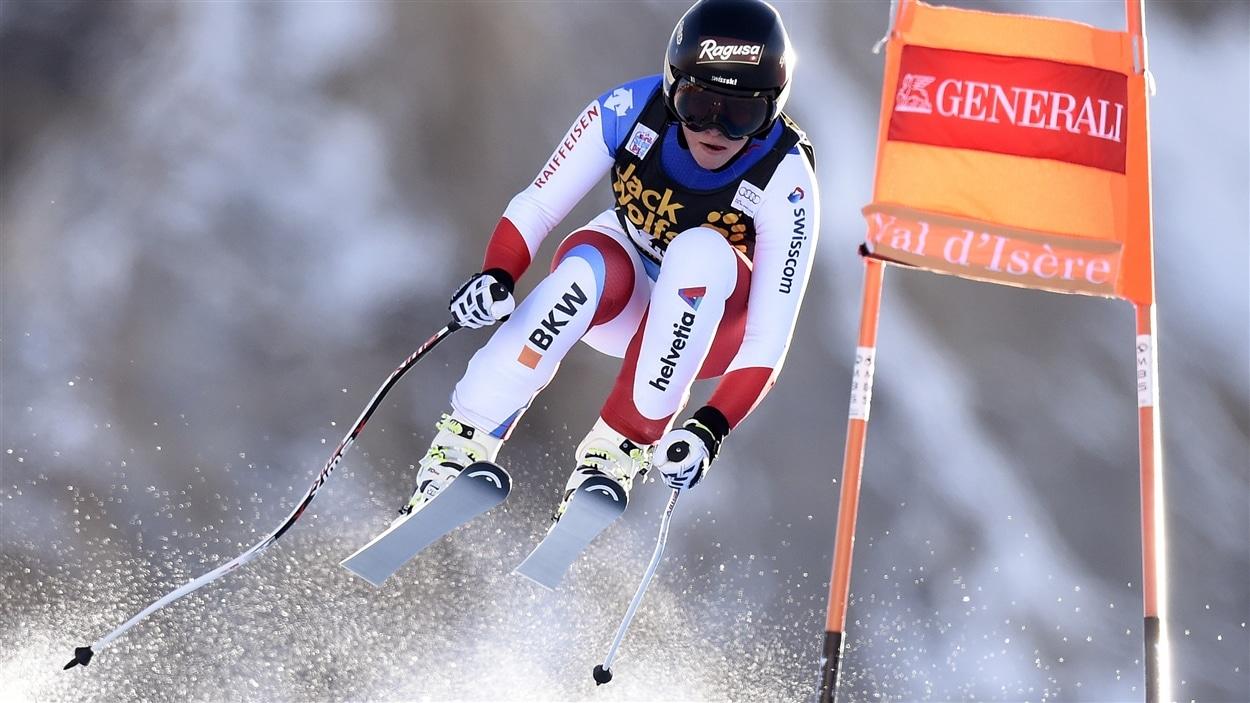 La Suisse Lara Gut remporte le super-combiné de Val d'Isère