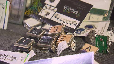 Quelques cadeaux recyclés offerts aux consommateurs