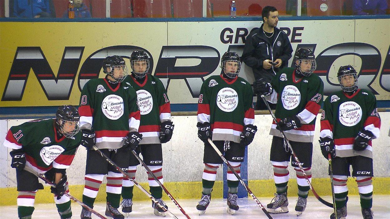 espoir hockey midget quebec