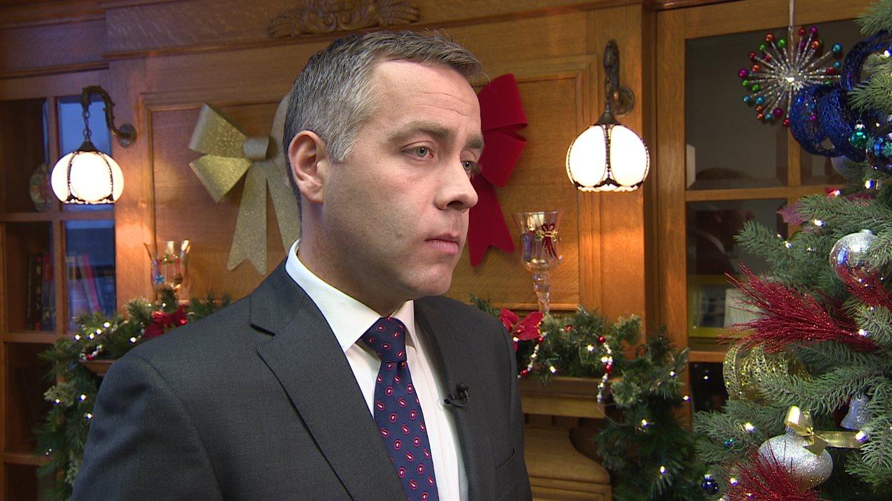 Cam Broten, le chef du Nouveau Parti démocratique
