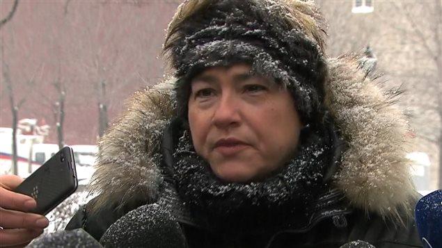 La vice-présidente du comité exécutif de la Ville de Montréal, Anie Samson.