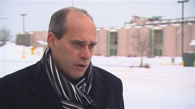Le député fédéral dans Rimouski-Neigette-Témiscouata-Les-Basques, Guy Caron