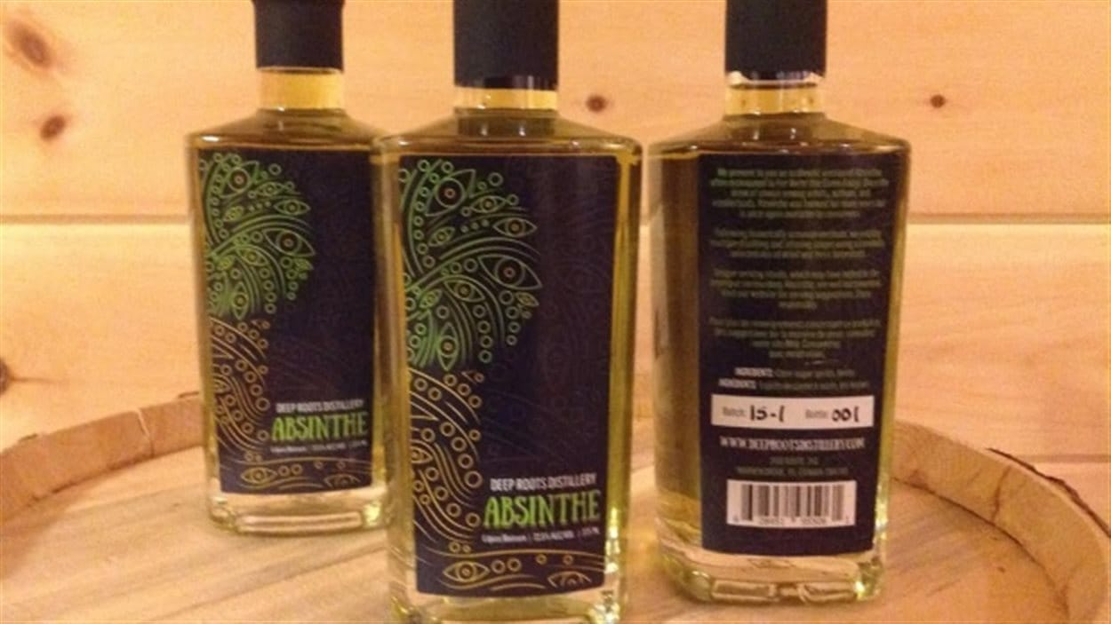 L'absinthe de la Distillerie Deep Roots