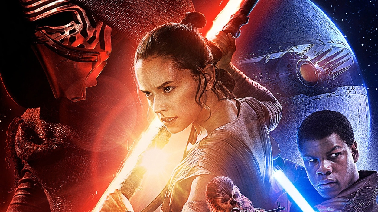 L'affiche de « Star Wars : le réveil de la force »