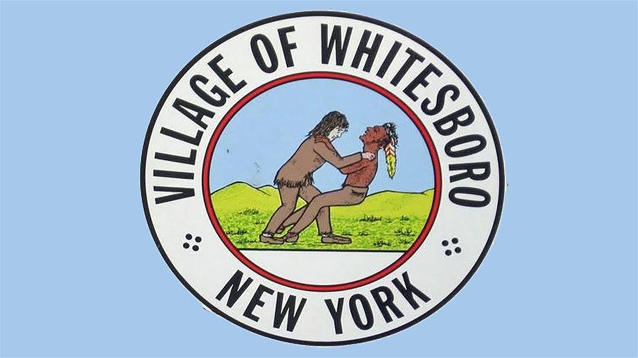 Le logo du village de Whitesboro dans l'État de New York.