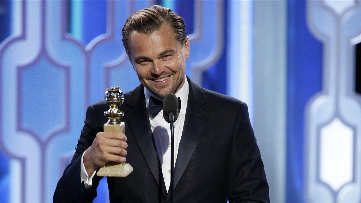 Leonardo Di Caprio (The Revenant) a remporté dimanche le Golden Globe du meilleur acteur dans un film dramatique