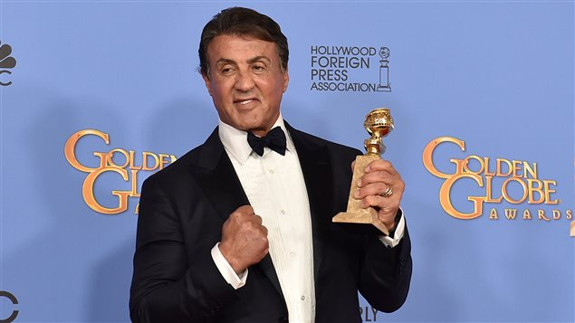 Sylvester Stallone dimanche lors des Golden Globes