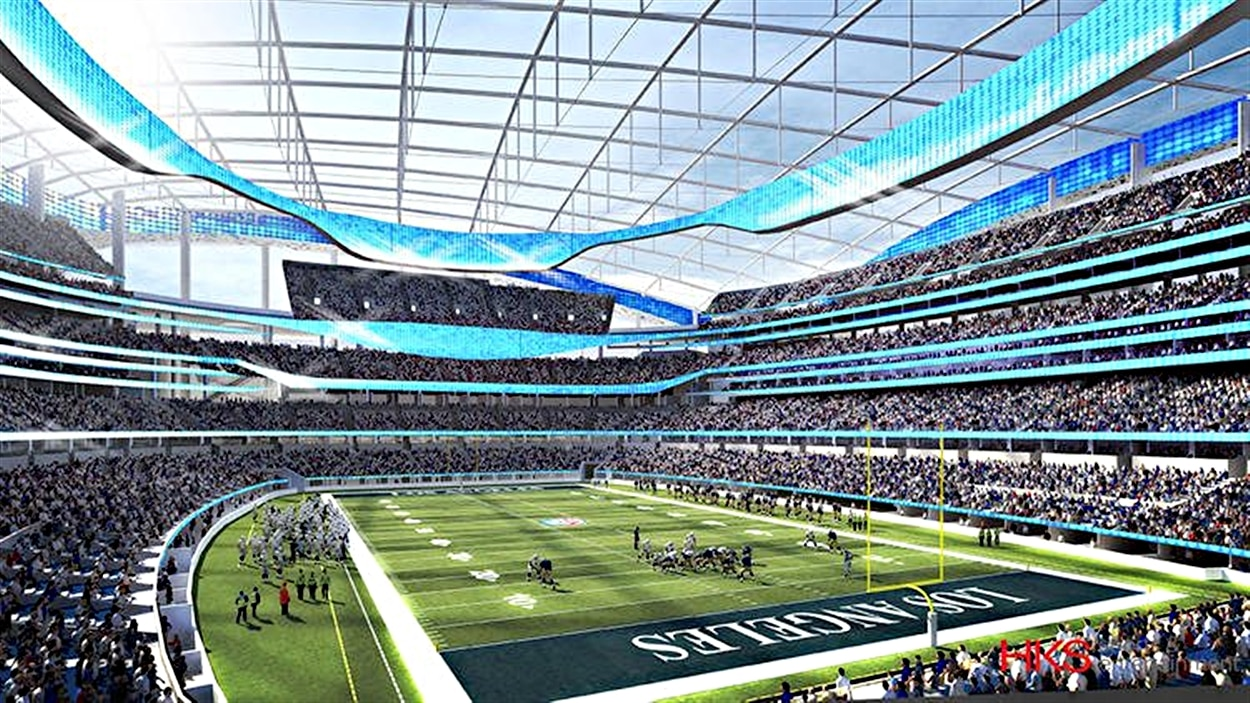 Le stade d'Inglewood sera prête en 2019