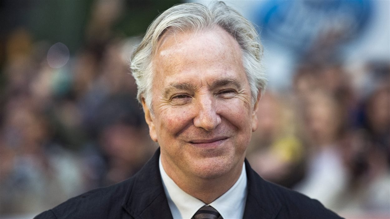 L'acteur britannique Alan Rickman lors de son passage au Festival international du film de Toronto en septembre 2013.