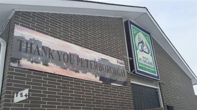 Les fidèles remercient les résidents de Peterborough pour leur soutien et leur générosité.