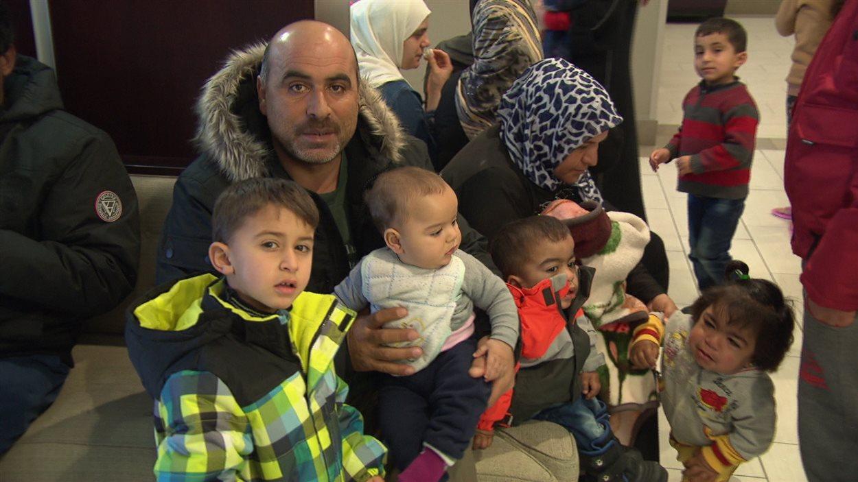 Cette famille fait partie des quelque 500 réfugiés syriens qui sont arrivés à Ottawa dans les dernières semaines.