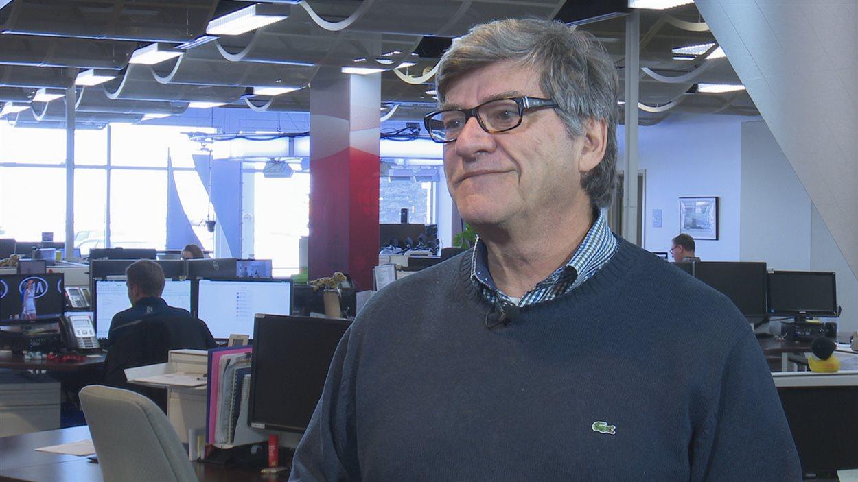 Le professeur en développement régional, Bruno Jean