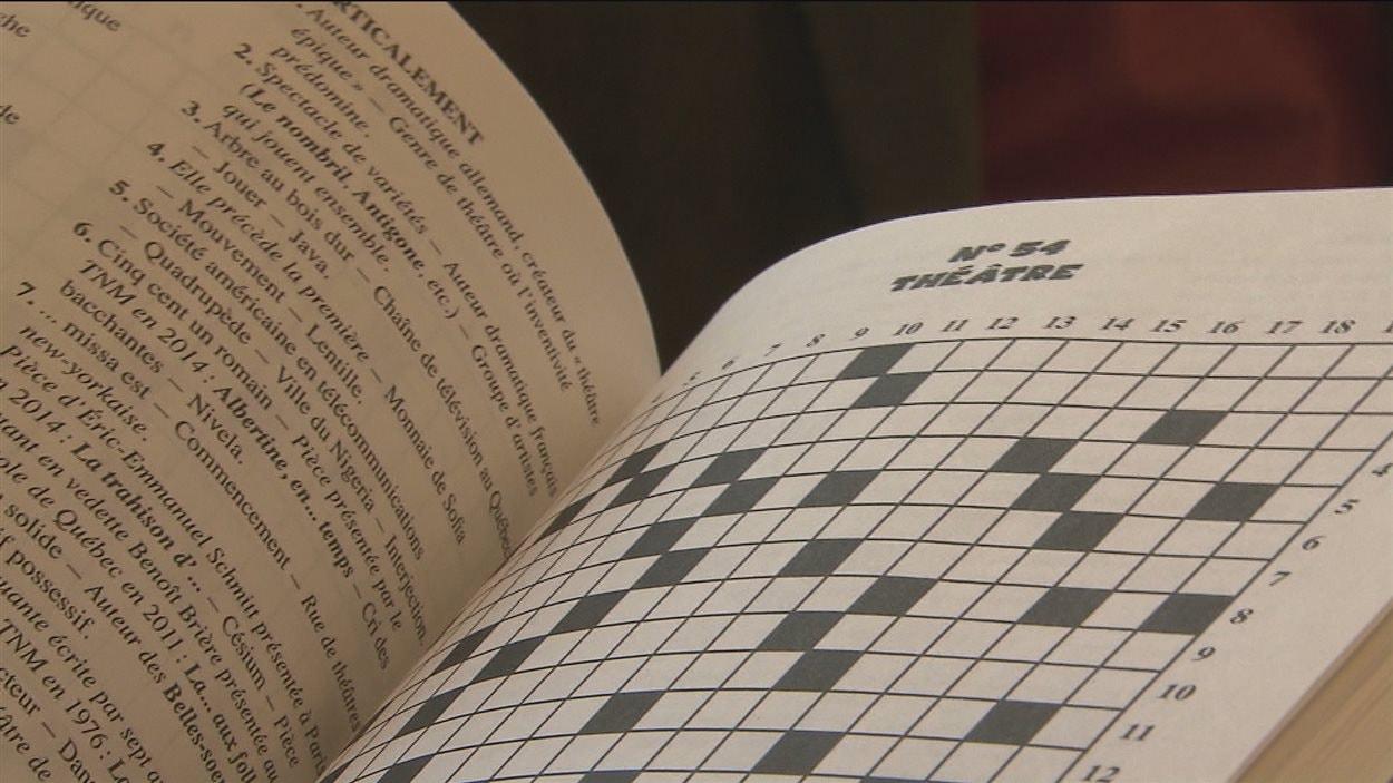 Un deuxième recueil de mots croisés pour le verbicruciste jonquiérois, Normand Beaudoin.