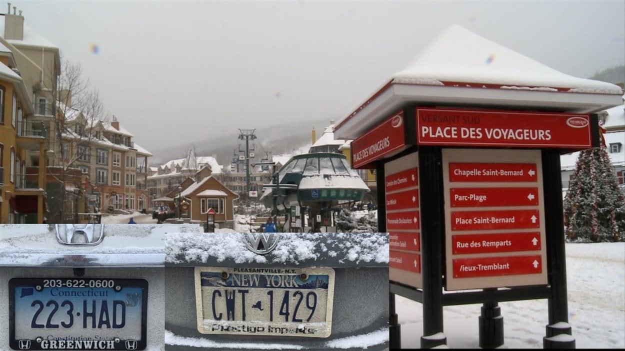 Les touristes Américains plus nombreux à Tremblant.