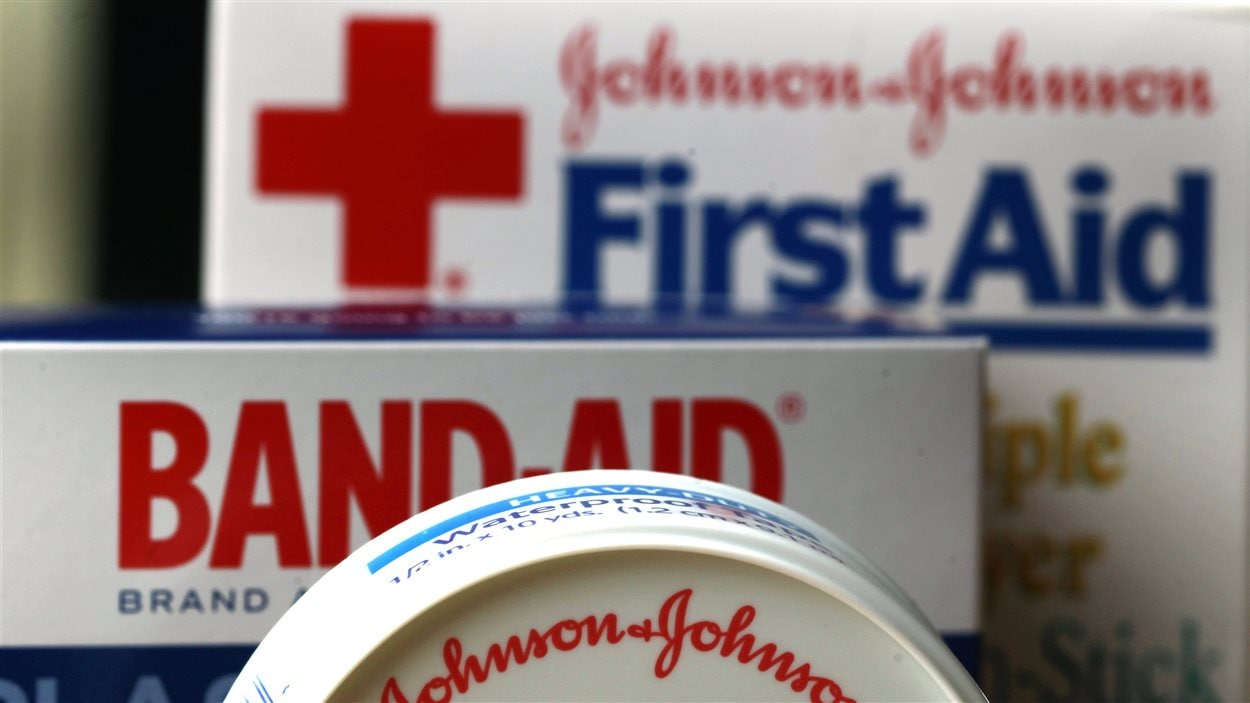 Produits de la compagnie Johnson & Johnson