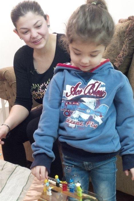 Zouvik Baghjajian et sa fille Reta