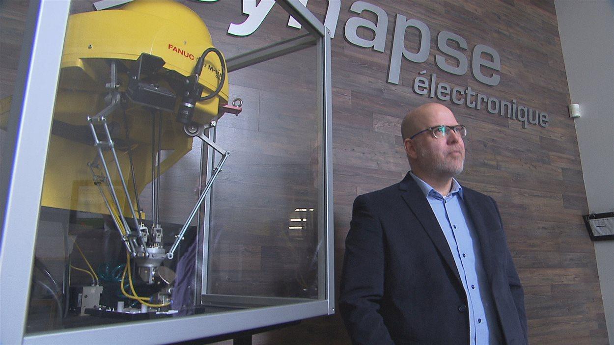 L'entreprise Synapse électronique de Shawinigan a reçu des investissements de 800 000 $ de Québec et Ottawa