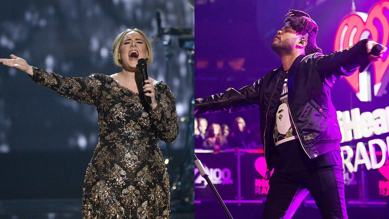 Adele et The Weeknd