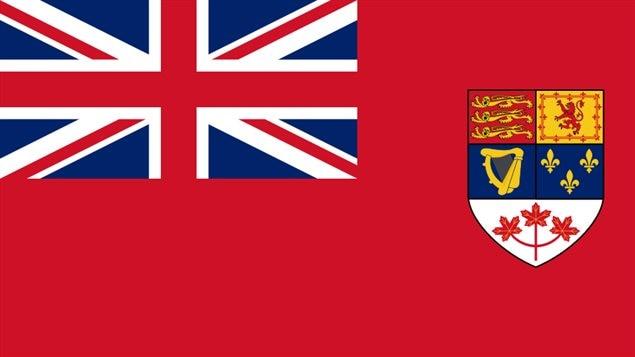 Le Red Ensign canadien est l'ancien drapeau du Canada.